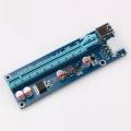 Riser с питанием 6Pin USB 3.0 60CM версия 006C, переходник на Sata (ACS-9888)