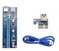 Riser с питанием 6Pin USB 3.0 60CM версия 006C