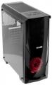 Корпус 3Cott PALADIN IV Black ATX без БП игровой, окно, картридер, 1х USB3.0 + 2х USB2.0, 1х 12см LED вент-р