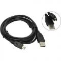 Кабель USB 2.0 Am->miniB 5P 3.0m Telecom [TC6911BK-3.0M]