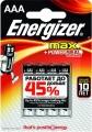 Эл. питания Energizer MAX LR03 AAA ENR MAX E92-BP4 (4шт)