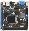 Мат.плата 1150 MSI H81I iH81 PCI-E DDR3 SATA3 GLAN D-SUB DVI HDMI USB3 mini-ITX RTL