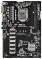 Мат.плата 1151 ASRock H110 PRO BTC+ iH110 1*PCI-Ex16 12*PCI-Ex1 2xDDR4 4xSATA3 M.2 GLAN DVI ATX RTL