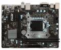Мат.плата 1151 MSI H110M PRO-D iH110 2*PCI-E 2*DDR4 SATA3 GLAN DVI USB3 mATX RTL