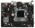 Мат.плата 1151 MSI H110M PRO-VH PLUS iH110 PCI-E 2*DDR4 SATA3 GLAN D-SUB HDMI USB3 mATX RTL