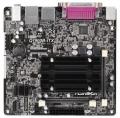 Мат.плата ASRock Q1900B-ITX Celeron quad-core J1900 2xSODDR3L 2xSATA2 GLAN D-SUB HDMI COM USB3.0 mini-ITX RTL