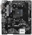 Мат.плата AM4 X370 ASRock X370M-HDV 3*PCI-Ex16 2*DDR4 4*SATA3 RAID M.2 USB3.0 GLAN D-Sub DVI HDMI mATX RTL