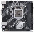 Мат.плата 1200 H410 Asus PRIME H410I-PLUS/CSM 1*PCI-Ex16 2*DDR4 4*SATA3 M.2 GLAN D-SUB HDMI 2*USB3.2 mATX