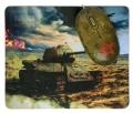 Мышь+коврик CBR Tank Battle USB 1200dpi