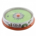 Диск CD-R SmartBuy 700MB 52x Fresh-Kiwifruit (10шт)