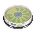 Диск CD-R SmartBuy 700MB 52x Fresh-Lemon (10шт)