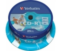 Диск CD-R Verbatim 700Mb 52x Branded Cake Box (25)