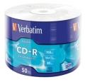 Диск CD-R Verbatim 700Mb 52x Shrink (50шт)