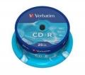 Диск CD-R Verbatim 700Mb 52x Cake Box (25шт) [43432]
