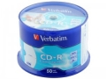 Диск CD-R Verbatim 700Mb 52x Cake Box (50шт) 43728