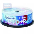 Диск DVD+R SmartBuy 4.7GB 16x Cake Box (25шт)