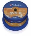 Диск DVD-R Verbatim 4,7Gb 16x Cake Box (50шт) [43548]
