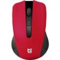 Мышь Defender Accura MM-935 red USB беспроводная, 4кн, 1600 dpi (52937)
