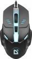 Мышь Defender Ultra Matt MB-470 black 7цветов,4кнопки, 1000dpi (52470)