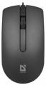 Мышь Defender Office MB-210 black USB 800dpi (52210)