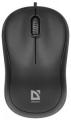 Мышь Defender Patch MS-759 black USB 3кн., 1000dpi (52759)
