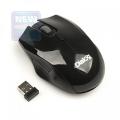 Мышь Dialog Pointer MROP-04U black RF 2.4G Optical -3кнопки + ролик, USB