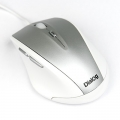 Мышь Dialog Pointer MOK-17U white Optical - 6 кн. + ролик прокрутки, USB