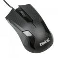 Мышь Dialog Pointer MOP-08U black Optical - 3 кнопки + ролик прокрутки, USB