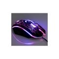 Мышь Dialog Gan-Kata MGK-08U black игровая 4 кнопки + ролик прокрутки, USB, цветная подсветка