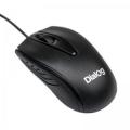 Мышь Dialog Comfort Optical MOC-17U black 3 кнопки + ролик прокрутки USB