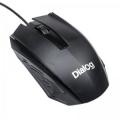 Мышь Dialog Comfort Optical MOC-19U black 3 кнопки + ролик прокрутки USB