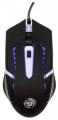 Мышь Dialog Gan-Kata MGK-03U black игровая 4 кнопки + ролик прокрутки, 7-ми цветная подсветка, USB
