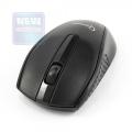 Мышь Gembird MUSW-217 черная,soft touch, 2кн.+колесо-кнопка, 2.4ГГц 1000dpi