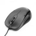 Мышь Gembird MOP-100 черная USB 1000dpi