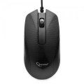 Мышь Gembird MOP-105 черная USB 1000dpi