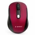 Мышь Gembird MUSW-420-1 красная, беспроводная, 4кн, 1600DPI