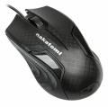 Мышь Nakatomi MON-06U black игровая 3 кнопки + ролик прокрутки, USB