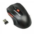Мышь Nakatomi Navigator MRON-07U black RF 2.4G Optical 6 кнопок + ролик прокрутки USB