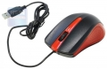 Мышь Oklick 225M black/red USB 1200dpi