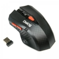 Мышь Dialog Pointer MROP-09U black RF 2.4G Optical -9кнопок + ролик, USB