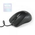 Мышь Gembird MUSOPTI8-800U черный, USB, 800DPI