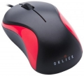 Мышь Oklick 115S black/red USB for Notebooks