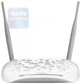 Модем TP-Link TD-W8968 300 Мбит/с, 2T2R, ADSL2/ADSL+, Annex A, 4 порта 100