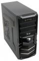 Корпус 3Cott 1815 Black ATX без БП 1x USB3.0 (с доп. коннектором USB 2.0), 1x USB2.0, 2х12см LED новые красные вент-ры, HD аудио, фильтр от пыли