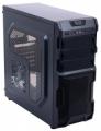 Корпус 3Cott 1816 Black ATX без БП 1x USB3.0 (с доп. коннектором USB 2.0), 1x USB2.0, 2х12см LED новые красные вент-ры, HD аудио, фильтр от пыли