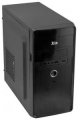 Корпус 3Cott 3C-MATX-S301 Black, mATX 450W Audio+Mic