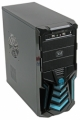 "Корпус ATX 500W 3Cott 3C-ATX110GB ""Gladiator"" 500W black/blue ATX"