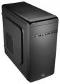Корпус AeroCool Qs-180 черный без БП mATX USB3.0