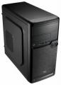 Корпус AeroCool Qs-182 черный без БП mATX USB2.0 *2+USB3.0 *1