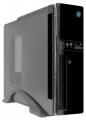 Корпус Crown CM-1907-1 black без БП ITX Micro ATX,Mini-ITX, отсеки 5,25*1, 3,5*1; 3,5/2,5*1; 2*USB 2.0; картридер; встроенный кулер 80мм